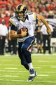 Sep 15, 2013; Atlanta, GA, USA; St. Louis Rams quarterback Sam Bradford (8) runs the ball in the second half against the Atlanta Falcons at the Georgia Dome. The Falcons won 31-24. Mandatory Credit: Daniel Shirey-USA TODAY Sports