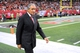 Sep 15, 2013; Atlanta, GA, USA; Atlanta Falcons team owner Arthur Blank walks on the sideline against the St. Louis Rams during the second half at Georgia Dome. The Falcons defeated the Rams 31-24. Mandatory Credit: Dale Zanine-USA TODAY Sports