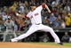 Sep 15, 2013; Boston, MA, USA; Boston Red Sox starting pitcher Clay Buchholz (11) pitches during the first inning against the New York Yankees at Fenway Park. Mandatory Credit: Bob DeChiara-USA TODAY Sports