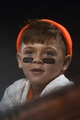 September 5, 2013; San Francisco, CA, USA; A San Francisco Giants fan looks on during the ninth inning against the Arizona Diamondbacks at AT&T Park. The Diamondbacks defeated the Giants 4-2. Mandatory Credit: Kyle Terada-USA TODAY Sports