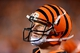Sep 16, 2013; Cincinnati, OH, USA; Cincinnati Bengals quarterback Andy Dalton (14) on the sidelines during the fourth quarter against the Pittsburgh Steelers at Paul Brown Stadium. Mandatory Credit: Andrew Weber-USA TODAY Sports