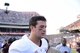 Sep 14, 2013; College Station, TX, USA; Alabama Crimson Tide quarterback AJ McCarron (10) after the game against the Texas A&M Aggies Kyle Field. Alabama won 49-42. Mandatory Credit: Thomas Campbell-USA TODAY Sports