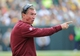 Sep 15, 2013; Green Bay, WI, USA;   Washington Redskins head coach Mike Shanahan during the game against the Green Bay Packers at Lambeau Field. Mandatory Credit: Benny Sieu-USA TODAY Sports