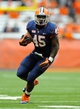 Sep 14, 2013; Syracuse, NY, USA; Syracuse Orange running back Jerome Smith (45) runs with the ball during the second quarter against the Wagner Seahawks at the Carrier Dome.  Syracuse defeated Wagner 54-0.  Mandatory Credit: Rich Barnes-USA TODAY Sports