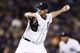 Sep 17, 2013; Detroit, MI, USA; Detroit Tigers relief pitcher Phil Coke (40) pitches in the eighth inning against the Seattle Mariners at Comerica Park. Mandatory Credit: Rick Osentoski-USA TODAY Sports