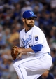 Sep 17, 2013; Kansas City, MO, USA; Kansas City Royals relief pitcher Louis Coleman (31) delivers a pitch against the Cleveland Indians in the sixth inning at Kauffman Stadium. Mandatory Credit: John Rieger-USA TODAY Sports