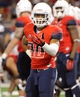 Sep 14, 2013; Tucson, AZ, USA; Arizona Wildcats receiver Johnny Jackson (30) in between plays during the fourth quarter against the Texas-San Antonio Roadrunners at Arizona Stadium. The Wildcats defeated the Roadrunners 38-13. Mandatory Credit: Casey Sapio-USA TODAY Sports