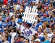Sep 15, 2013; Orchard Park, NY, USA; A general view of the Buffalo Bills fans during the game against the Carolina Panthers at Ralph Wilson Stadium. Mandatory Credit: Kevin Hoffman-USA TODAY Sports