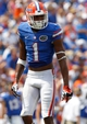 Aug 31, 2013; Gainesville, FL, USA; Florida Gators wide receiver Quinton Dunbar (1) against the Toledo Rockets during the second half at Ben Hill Griffin Stadium. Florida Gators defeated the Toledo Rockets 24-6. Mandatory Credit: Kim Klement-USA TODAY Sports