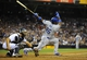 Sep 20, 2013; San Diego, CA, USA; Los Angeles Dodgers right fielder Yasiel Puig (66) strikes out with the go ahead runs on base during the ninth inning against the San Diego Padres at Petco Park. The Padres won 2-0. Mandatory Credit: Christopher Hanewinckel-USA TODAY Sports