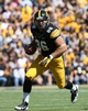 Sep 21, 2013; Iowa City, IA, USA; USA Iowa Hawkeyes tight end C.J. Fiedorowicz (86) runs the football against the Western Michigan Broncos during the first quarter at Kinnick Stadium. Mandatory Credit: Reese Strickland-USA TODAY Sports