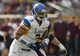Sep 21, 2013; Minneapolis, MN, USA; San Jose State Spartans defensive tackle Travis Raciti (3) runs after the ball in the second half against the Minnesota Golden Gophers at TCF Bank Stadium. The Gophers won 43-24. Mandatory Credit: Jesse Johnson-USA TODAY Sports