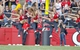 Sep 21, 2013; Piscataway, NJ, USA;  Rutgers Scarlet Knights dance team perform during the first half against Arkansas Razorbacks at High Points Solutions Stadium. Mandatory Credit: Jim O'Connor-USA TODAY Sports