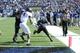 Sep 21, 2013; Memphis, TN, USA; Memphis Tigers running back Brandon Hayes (38) dives for a touchdown  at Liberty Bowl Memorial. Mandatory Credit: Justin Ford-USA TODAY Sports