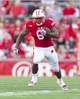 Sep 21, 2013; Madison, WI, USA;  Wisconsin Badgers running back Corey Clement (6) rushes with the football during the fourth quarter against the Purdue Boilermakers at Camp Randall Stadium. Wisconsin defeated Purdue 41-10.  Mandatory Credit: Jeff Hanisch-USA TODAY Sports