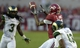 Sep 21, 2013; Tuscaloosa, AL, USA; Alabama Crimson Tide wide receiver Christion Jones (22) pulls in a pass over Colorado State Rams defensive back DeAndre Elliott (13) and cornerback Shaq Bell (3) during the first quarter at Bryant-Denny Stadium. Mandatory Credit: John David Mercer-USA TODAY Sports