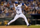 Sep 21, 2013; Kansas City, MO, USA; Kansas City Royals pitcher Louis Coleman (31) delivers a pitch against the Texas Rangers during the eighth inning at Kauffman Stadium. Mandatory Credit: Peter G. Aiken-USA TODAY Sports