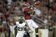 Sep 21, 2013; Tuscaloosa, AL, USA; Alabama Crimson Tide wide receiver DeAndrew White (2) hauls in a touchdown pass in the end zone against the Colorado State Rams during the fourth quarter at Bryant-Denny Stadium. Alabama defeated Colorado State 31-6. Mandatory Credit: John David Mercer-USA TODAY Sports