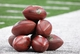 Sep 22, 2013; Arlington, TX, USA; A general view of stack Wilson footballs prior to the game with the Dallas Cowboys playing against the St. Louis Rams at AT&T Stadium. Mandatory Credit: Matthew Emmons-USA TODAY Sports
