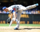 Sep 22, 2013; San Diego, CA, USA; Los Angeles Dodgers relief pitcher J.P. Howell (56) throws during the sixth inning against the San Diego Padres at Petco Park. Mandatory Credit: Christopher Hanewinckel-USA TODAY Sports