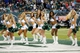 Sep 22, 2013; East Rutherford, NJ, USA;  New York Jets cheerleaders perform during the game against the Buffalo Bills at MetLife Stadium. Mandatory Credit: Anthony Gruppuso-USA TODAY Sports