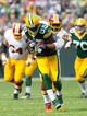 Sep 15, 2013; Green Bay, WI, USA;  Green Bay Packers wide receiver James Jones (89) during the game against the Washington Redskins at Lambeau Field.  Green Bay won 38-20.  Mandatory Credit: Jeff Hanisch-USA TODAY Sports