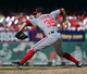 Sep 25, 2013; St. Louis, MO, USA; Washington Nationals relief pitcher Craig Stammen (35) delivers a pitch against the St. Louis Cardinals during the eighth inning at Busch Stadium. The Cardinals defeated the Nationals 4-1. Mandatory Credit: Scott Rovak-USA TODAY Sports