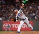 Sep 25, 2013; San Francisco, CA, USA; Los Angeles Dodgers relief pitcher J.P. Howell (56) pitches against the San Francisco Giants during the seventh inning at AT&T Park. The San Francisco Giants defeated the Los Angeles Dodgers 6-4. Mandatory Credit: Ed Szczepanski-USA TODAY Sports
