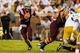 Sep 26, 2013; Atlanta, GA, USA; Virginia Tech Hokies quarterback Logan Thomas (3) runs the ball in the first half against the Georgia Tech Yellow Jackets at Bobby Dodd Stadium. Mandatory Credit: Daniel Shirey-USA TODAY Sports