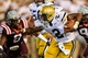 Sep 26, 2013; Atlanta, GA, USA; Georgia Tech Yellow Jackets quarterback Vad Lee (2) runs the ball in the second half against the Virginia Tech Hokies at Bobby Dodd Stadium. Virginia Tech won 17-10. Mandatory Credit: Daniel Shirey-USA TODAY Sports