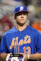 Sep 27, 2013; New York, NY, USA; New York Mets pitching prospect Noah Syndergaard is presented with his Sterling Award before a game against the Milwaukee Brewers at Citi Field. Sterling Awards go to the Mets' best organizational players. Mandatory Credit: Brad Penner-USA TODAY Sports