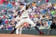 Sep 28, 2013; Minneapolis, MN, USA; Minnesota Twins pitcher Cole De Vries (38) delivers a pitch in the first inning against the Cleveland Indians at Target Field. Mandatory Credit: Brad Rempel-USA TODAY Sports