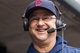 Sep 28, 2013; Minneapolis, MN, USA; Cleveland Indians manager Terry Francona gives a TV interview in the dugout during the third inning against the Minnesota Twins at Target Field. Mandatory Credit: Brad Rempel-USA TODAY Sports
