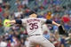 Sep 28, 2013; Minneapolis, MN, USA; Cleveland Indians pitcher Marc Rzepczynski (35) throws a pitch in the seventh inning against the Minnesota Twins at Target Field. Mandatory Credit: Brad Rempel-USA TODAY Sports