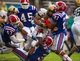 Sep 28, 2013; Dallas, TX, USA; Army Black Knights running back Terry Baggett (31) is tackled by Louisiana Tech Bulldogs defensive back Adairius Barnes (21) during second quarter at the Cotton Bowl Stadium. Mandatory Credit: Jerome Miron-USA TODAY Sports