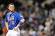Sep 28, 2013; New York, NY, USA; New York Mets third baseman David Wright (5) looks on after grounding into an inning-ending double play in the ninth inning against the Milwaukee Brewers at Citi Field. Mandatory Credit- Joe Camporeale-USA TODAY Sports