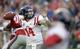Sep 28, 2013; Tuscaloosa, AL, USA;  Mississippi Rebels quarterback Bo Wallace (14) passing against the Alabama Crimson Tide during the second quarter at Bryant-Denny Stadium. Mandatory Credit: John David Mercer-USA TODAY Sports