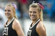 Sep 28, 2013; Dallas, TX, USA; The Army Black Knights cheerleaders watch the Knights take on the Louisiana Tech Bulldogs at the Cotton Bowl Stadium. The Black Knights defeated the Bulldogs 35-16. Mandatory Credit: Jerome Miron-USA TODAY Sports