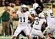 Sep 28, 2013; Nashville, TN, USA; Alabama-Birmingham Blazers quarterback Austin Brown (11) passes against the Vanderbilt Commodores during the first half at Vanderbilt Stadium. Mandatory Credit: Don McPeak-USA TODAY Sports