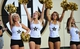 Sep 28, 2013; Nashville, TN, USA; Members of the Vanderbilt Commodores dance team performs before a game against the Alabama-Birmingham Blazers at Vanderbilt Stadium. The Commodores beat the Blazers 52-24. Mandatory Credit: Don McPeak-USA TODAY Sports