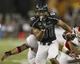 Sep 28, 2013; Honolulu, HI, USA; Hawaii wide receiver Vasquez Haynes (81) runs the ball against Fresno State in the fourth quarter of the NCAA college football game at Aloha Stadium. Mandatory Credit: Marco Garcia-USA TODAY Sports