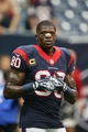 Sep 29, 2013; Houston, TX, USA; Houston Texans receiver Andre Johnson (80) prior to the game against the Seattle Seahawks at Reliant Stadium. Mandatory Credit: Matthew Emmons-USA TODAY Sports