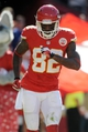 Sep 29, 2013; Kansas City, MO, USA; Kansas City Chiefs wide receiver Dwayne Bowe (82) celebrates after scoring a touchdown during the second half of the game against the New York Giants at Arrowhead Stadium. The Chiefs won 31-7. Mandatory Credit: Denny Medley-USA TODAY Sports