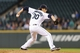Sep 29, 2013; Seattle, WA, USA; Seattle Mariners relief pitcher Bobby LaFromboise (30) pitches to the Oakland Athletics during the 5th inning at Safeco Field. Mandatory Credit: Steven Bisig-USA TODAY Sports