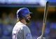 September 29, 2013; Los Angeles, CA, USA; Colorado Rockies first baseman Todd Helton (17) on deck before coming up to bat in the ninth inning against the Los Angeles Dodgers at Dodger Stadium. Mandatory Credit: Gary A. Vasquez-USA TODAY Sports