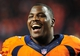 Sep 23, 2013; Denver, CO, USA; Denver Broncos defensive end Malik Jackson (97) after the game against the Oakland Raiders at Sports Authority Field at Mile High.  The Broncos won 37-21. Mandatory Credit: Chris Humphreys-USA TODAY Sports