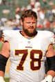 Sep 29, 2013; Oakland, CA, USA; Washington Redskins guard Kory Lichtensteiger (78) against the Oakland Raiders during the game at O.co Coliseum. The Redskins defeated the Raiders 24-14. Mandatory Credit: Cary Edmondson-USA TODAY Sports
