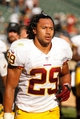 Sep 29, 2013; Oakland, CA, USA; Washington Redskins running back Roy Helu (29) against the Oakland Raiders during the game at O.co Coliseum. The Redskins defeated the Raiders 24-14. Mandatory Credit: Cary Edmondson-USA TODAY Sports