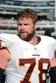 September 29, 2013; Oakland, CA, USA; Washington Redskins guard Kory Lichtensteiger (78) walks off the field after the game against the Oakland Raiders at O.co Coliseum. The Redskins defeated the Raiders 24-14. Mandatory Credit: Kyle Terada-USA TODAY Sports