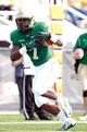 Oct 5, 2013; Birmingham, AL, USA;  UAB Blazers running back Jordan Howard (7) runs catching a pass against the Florida Atlantic Owls at Legion Field. Mandatory Credit: Marvin Gentry-USA TODAY Sports